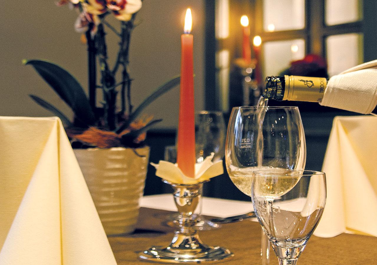 Weinservice im Restaurant